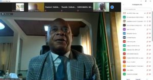 Dr Jean Gérard Mezui M'ella intervention as AU-IAPSC Director