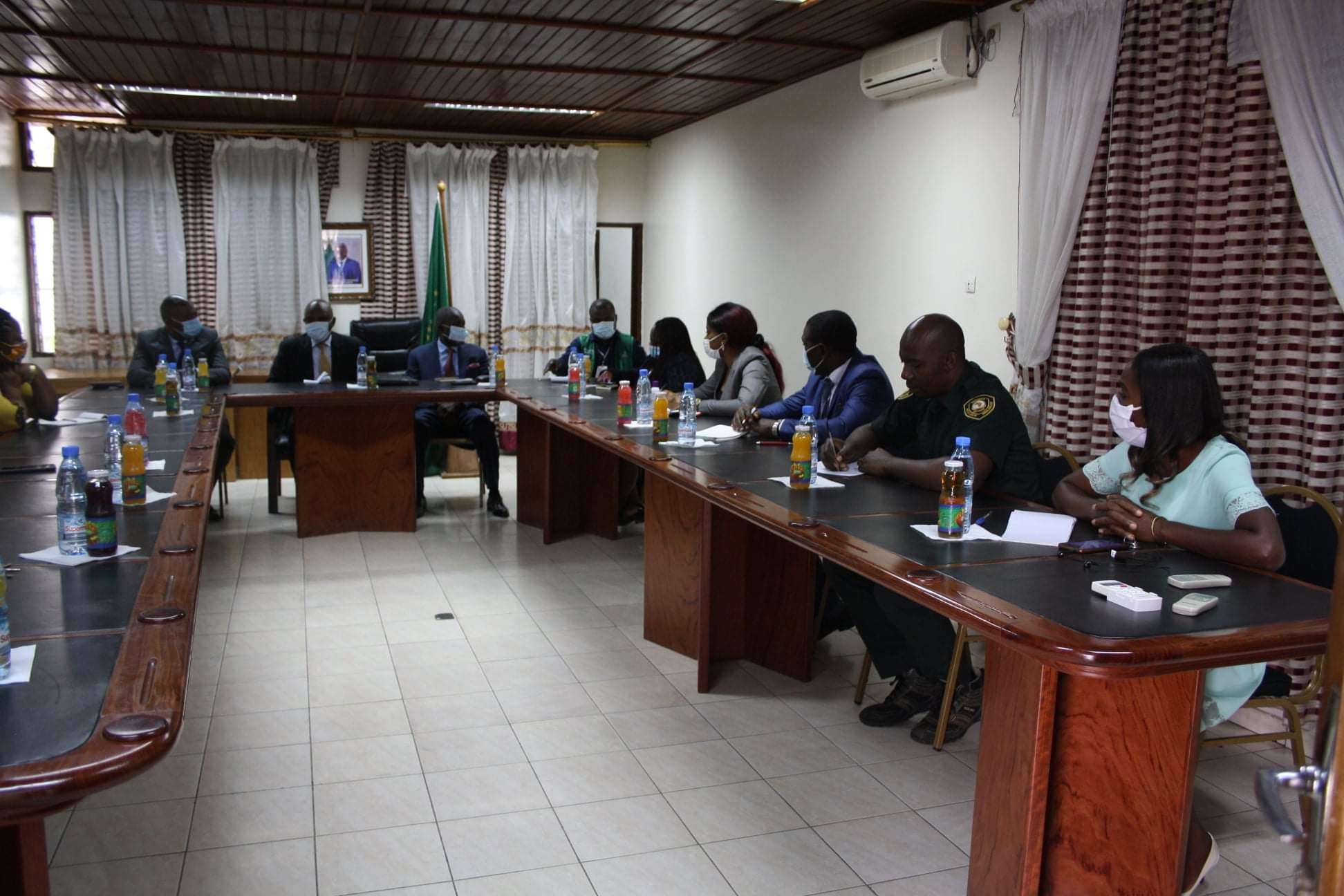 Africa cdc director appreciates actions taken by au iapsc to fight covid-19