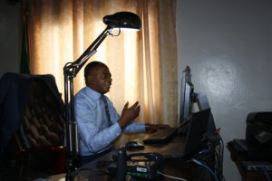 Mr. MEZUI M'ELLA director of the Inter-African Phytosanitary Council